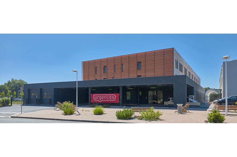 Restructuration et extension du Centre Hospitalier, à Verneuil sur Avre (27)