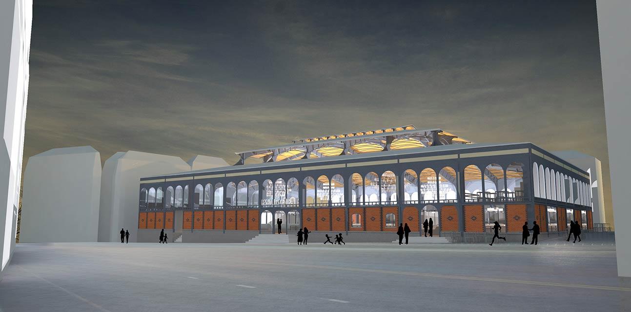 Restructuration des Halles centrales de Limoges