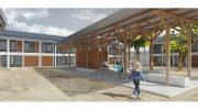Restructuration extension d'un ensemble scolaire : maternelle élémentaire collège lycée, à Pointe Noire (Congo Brazzaville)
