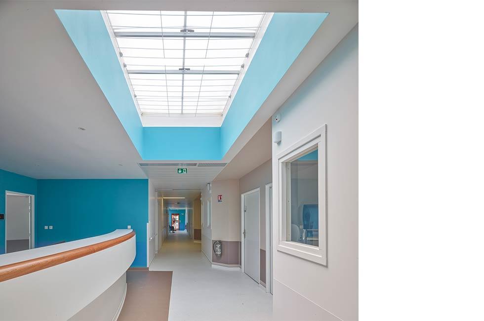 Restructuration partielle et extension du Centre Hospitalier Intercommunal, à St Aubin les Elbeuf (76)