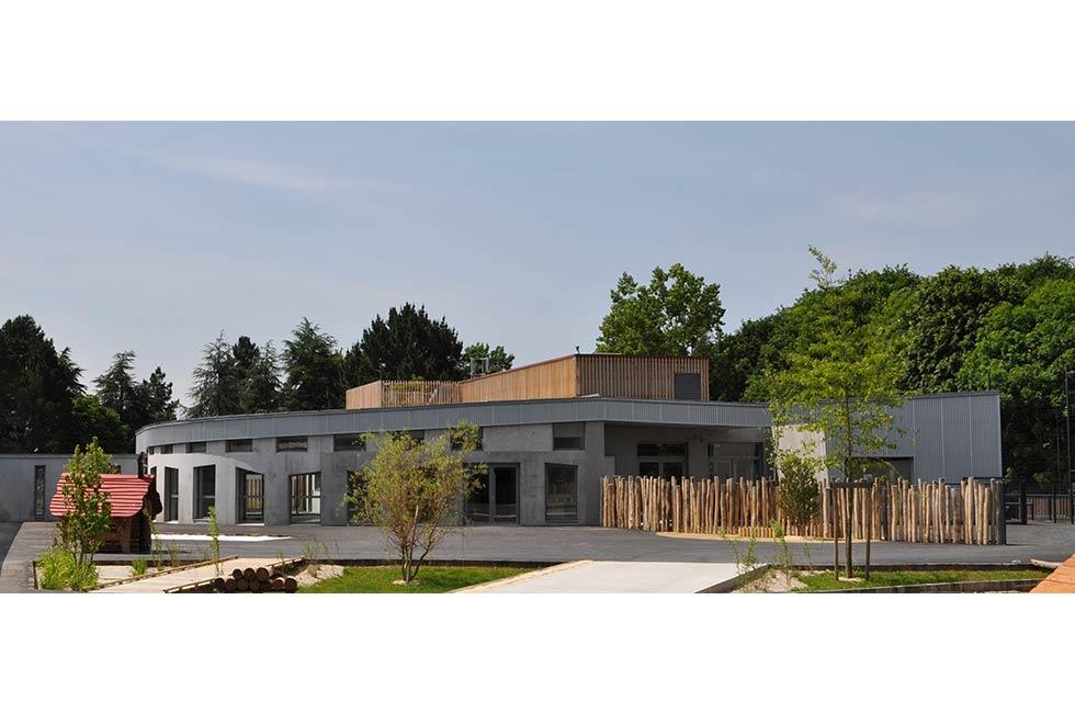 Construction du Groupe scolaire Nelson Mandela et d'une Maison des Arts à St Herblain (44)