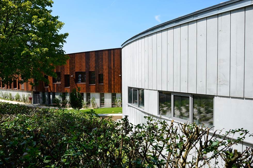 construction du groupe scolaire nelson mandela et d 39 une maison des arts st herblain 44. Black Bedroom Furniture Sets. Home Design Ideas